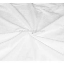 Tela laminada de toalha de Terry do algodão macio por atacado para fazer o protetor impermeável do colchão