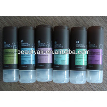 cosmetic clear tubes with hanging cap
