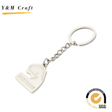 Porte-clés matel de logo de cheval de relief (Y03641)