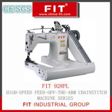 Alimentam-se o braço Chainstitch máquina (forma 928PL)