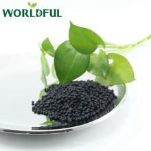 Abono compuesto al por mayor de la fábrica NPK 13-1-2, aminoácido negro granular