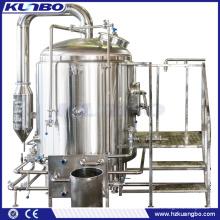 KUNBO Steam Jacketed & Electric 10BBL Bierbrühkessel