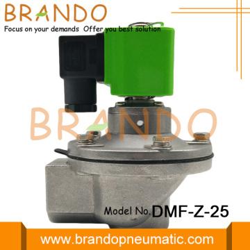 1 '' válvula de pulso de solenóide de alumínio de fundição de ângulo direito