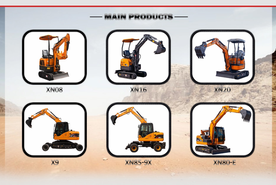 Rhinoceros mini excavators