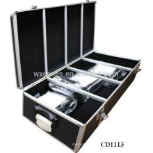 alta calidad y fuerte CD 880 discos aluminio caja CD por mayor