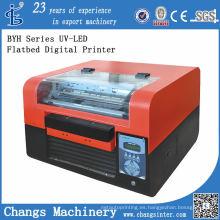 Impresora digital de cama plana Byh168-3A UV-LED