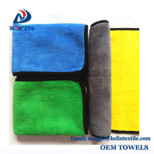2018 New Design Double Side Microfiber Coral Fleece Towel for Cleaning