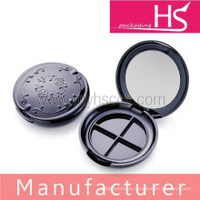 plastic cosmetic eyeshadow container