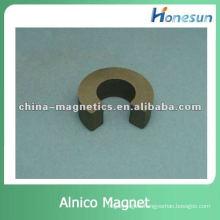 sintered alnico permanent magnet horseshoe shaped