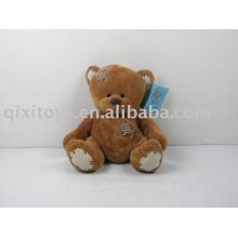 parche de felpa marrón felpa oso de peluche