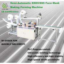 Máquina para fabricar máscaras N95 totalmente automática de alta velocidad