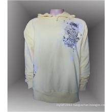 Custom 100% cotton men's pullover