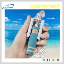 Suporte de telefone celular com fio Monopod Bluetooth Camera
