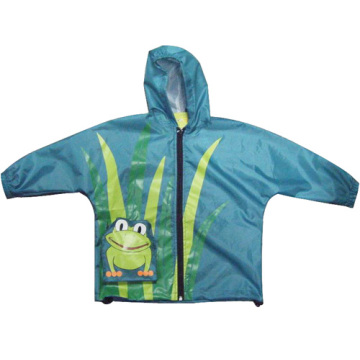 Kids Nylon Rainsuit