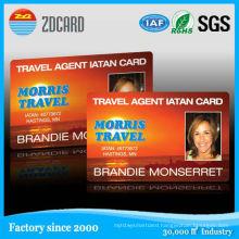 Spot UV Embossed RFID Business Card