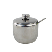 Apple Shape Stainless Steel Sugar Canister