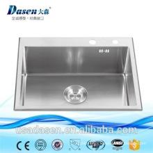 sink for barber quartz kitchen acrylic steel basin