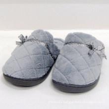 Indoor slipper plush women slipper sock cover soft ladies shoes