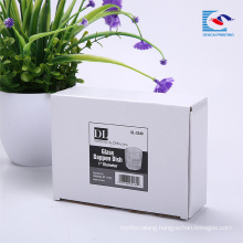 High Quality White Corrugated Paper Packaging Box Packaging For Baby Shoes