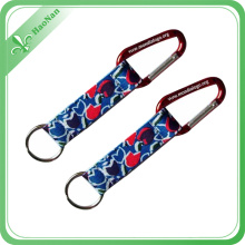 Wholesale High Quality Customized Aluminum Carabiner Keychain