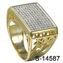 Nuevo diseño de joyería de moda 925 anillo de plata esterlina