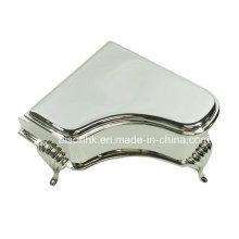 Шкатулка для ювелирных изделий из металла в стиле фортепиано, шкатулка для ювелирных изделий