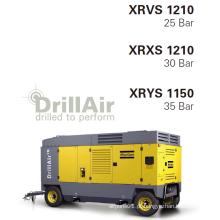 Atlas Copco 1300cfm portátil parafuso compressor de ar para o equipamento