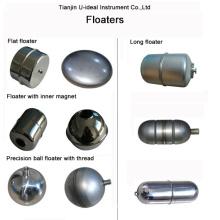 Flutuadores de aço inoxidável-Flutuadores de bola- Flutuadores de presença-Flutuadores de íman interior