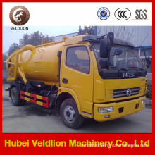 Factory Price of Dongfeng 4X2 Mini Vacuum Sewage Suction Truck