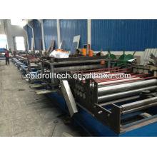 Máquina para fabricar bandejas de cables, bandeja para cables de metal que forma la máquina