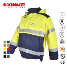 Internationale Zertifizierungen Hi Vis Safety Workwear Jacket