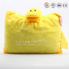 Em forma de U bonito crianças travesseiro de pescoço animal