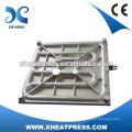 Os elementos de calor fundido das prensas de transferência de calor