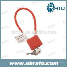 Serrure de câble à câble d'acier RP-169 de 8,5 po à 15 po