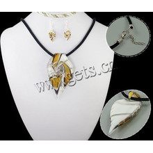 Gets.com 2015 lampwork china wholesale 925 silver jewelry set