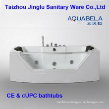 Bañera de hidromasaje de lujo con jacuzzi de hidromasaje de acrílico
