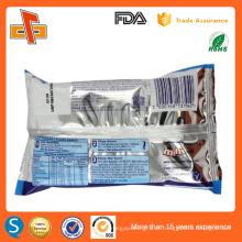 Alta qualidade laminado banana coco plantain chips embalagem sacos