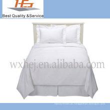 Conjunto de cama de bebê branco super macio de alta qualidade