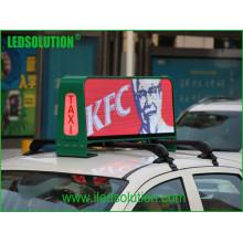 Ledsolution P5 Fulll Couleur LED Top Taxi Affichage vidéo