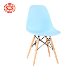 Vente en gros de fauteuils en plastique à base de métal en cuir Chaise de cuisine chaises lucite