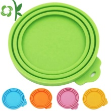 Universal Reusable Silicone Pet Food Can Lid