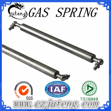 tension in spring with kinds of end fitting