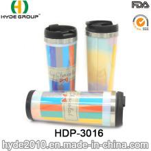 Aço inoxidável bonito Design caneca caneca café caneca de viagem (HDP-3016)