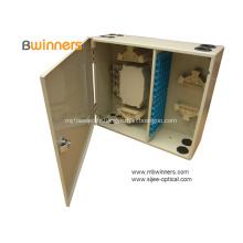 Boîte de distribution pour fibre optique d'intérieur fixée au mur Ip54