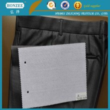 100% Cotton Woven Interlining for Shirt Collar and Cuff