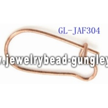 Kidney ear wire clip jewelry accessories