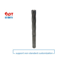 High accuracy carbide pin end mill reamers