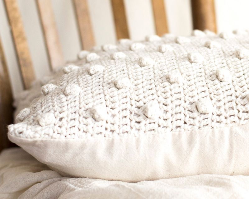 6 3crochet Cushion Cover