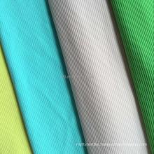 New design 75D/144F polyester elastane 2*1 rib swimwear fabric polyester lycra rib fabric for women panty