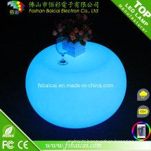 LED Coffee Table RGB Illuminated LED Bar Table